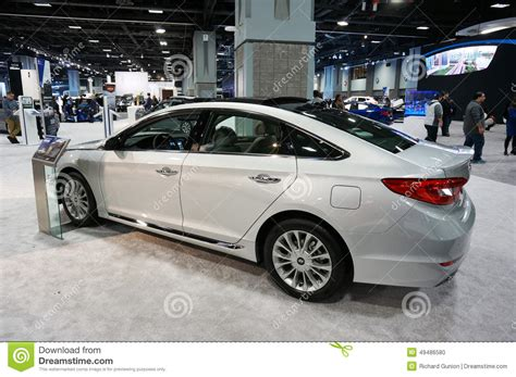 2015 Hyundai Sonata Luxury Car Editorial Image Image