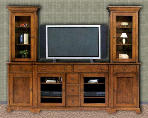 Winners Only Entertainment Center in Vintage American WO-TJ-2