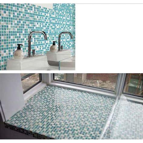blue glass tile kitchen backsplash crackle tile backsplash blue glass