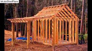 shed plans 10x12 12x16 shed plans youtube