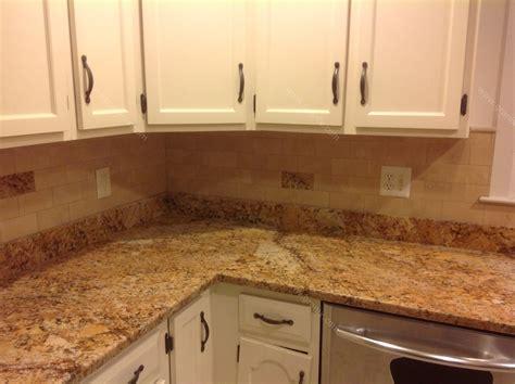 kitchen backsplashes with granite countertops mac s before after solarius granite countertop