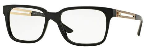 3218 black chagne glasses versace ve3218a eyeglasses frames