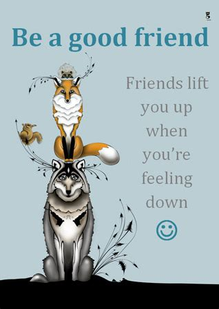 early learning resources editable friendship poster