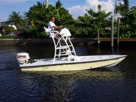 Boat Half Tower For Sale by 1993 Bass Tracker Microskiff