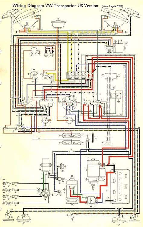 70 Vw Bug Wiring Diagram by Vraag Knipper Relais Amerikaans 67