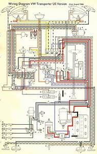 1967 Bus Wiring Diagram  Usa