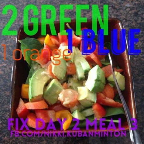 #21DayFix Day 2 Meal #3 Nikki Kuban Minton 2 green