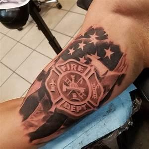 21+ Firefighter Tattoo Designs, Ideas | Design Trends ...
