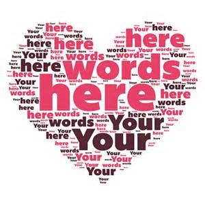 Heart Word Art