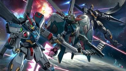 Gundam Crossbone Mobile Suit Desktop Background War