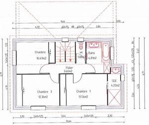 Avis plan de maison r1 110m2 26 messages for Plan de maison 110m2 1 maison 110m2 top maison