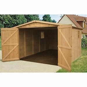 Abri de voiture prix bas twenga for Garage en bois autoclave
