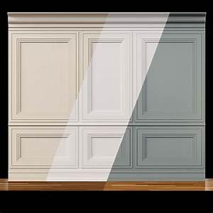 Wall, Molding, 13, Boiserie, Classic, Panels, 3d