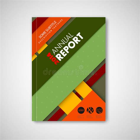 Brochure Free Vector 2 389 Free Vector For Brochure Front Page Template With Material Design Stock