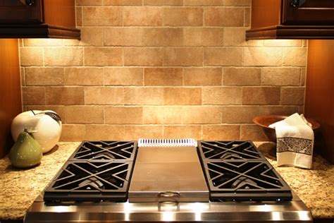 tumbled travertine backsplash images