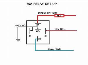 4 Pin Relay Wiring Diagram Fuel Pump
