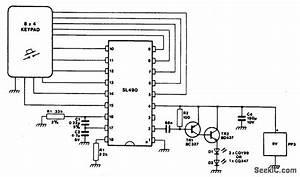 ir transmitter communication circuit circuit diagram With ir transmitter circuit diagram
