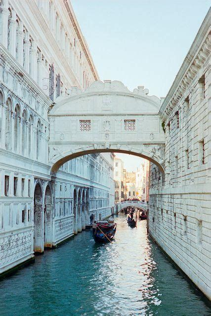 Bridge Of Sighs Venice Italy Local Legend Says That