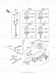 Kawasaki Atv 1997 Oem Parts Diagram For Ignition Switch