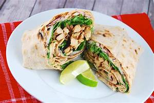 Wraps Füllung Vegetarisch : chipotle chicken wrap recipe 8 points laaloosh ~ Markanthonyermac.com Haus und Dekorationen