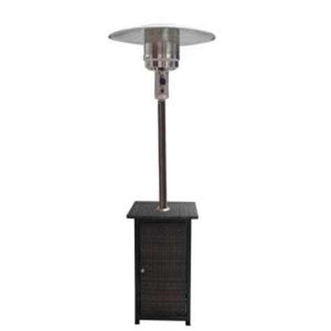 Patio Heater Thermocouple Home Depot by Gardensun 41 000 Btu Propane Patio Heater With Woven Base