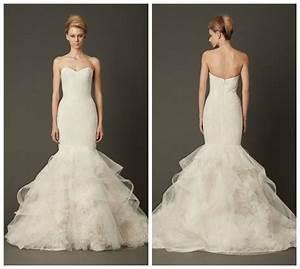 Vera wang lillian mermaid bridal dresses pinterest for Vera wang lillian wedding dress
