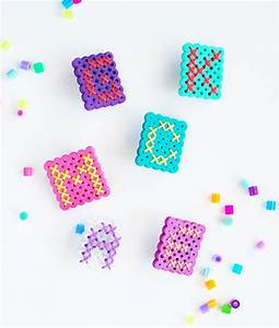 How to make perler bead monograms for Circle letter beads