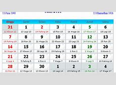 Kalender Indonesia Juni 2015 Kalender Indonesia 2017