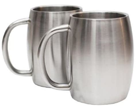 Best Stainless Steel Coffee Mugs with Handle   Double Wall cups for you