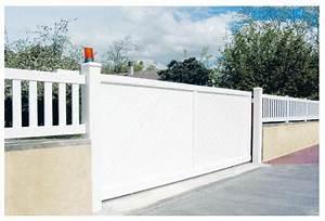 Orange Portail Pro : free portail pvc blanc coulissant portail coulissant ~ Nature-et-papiers.com Idées de Décoration