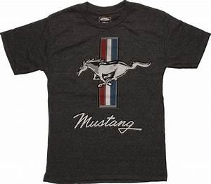 Ford Mustang Emblem Youth T-Shirt