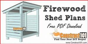 Firewood Shed Plans - Free Pdf Download