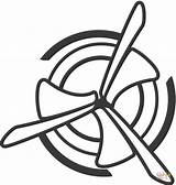 Coloring Clipart Dibujos Colorear Fan Ventilador Air Colorare Dibujar Colouring Colorir Printable Animado Cartoon Clip Dibujo Ventola Transparent Desenho Flow sketch template