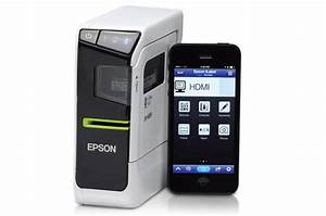 epson invents a clever label printer that works with ios With ios label printer
