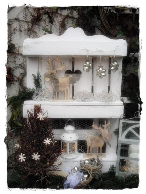 Weihnachtsdeko Shabby Garten by Shabby Landhaus Paletten Deko