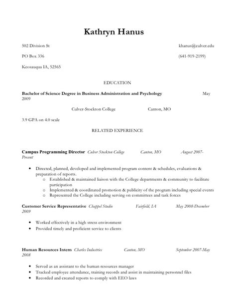 Honor Society Resume by Kathryn Hanus Resume