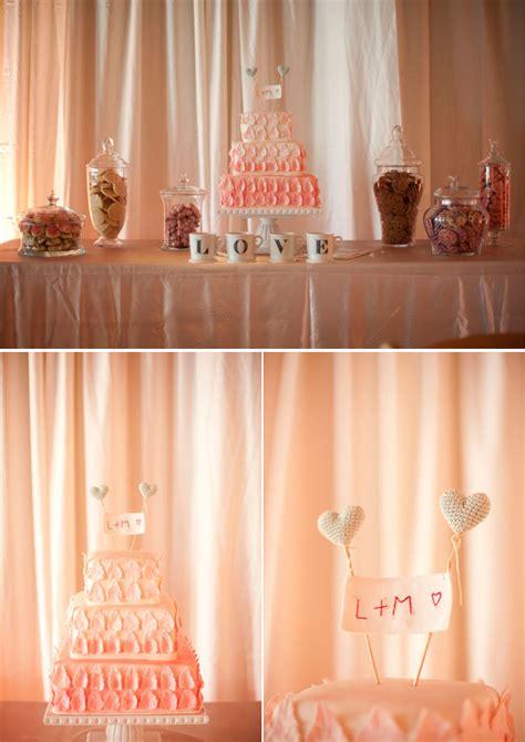st pete beach wedding  peach color scheme