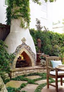 adobe house plans with courtyard style stucco fireplace outdoor fireplaces