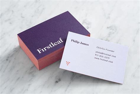 firstleaf  images business card inspiration