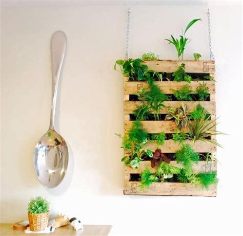 couleur de cuisine moderne mur végétal intérieur en 80 idées pour la maison écologique