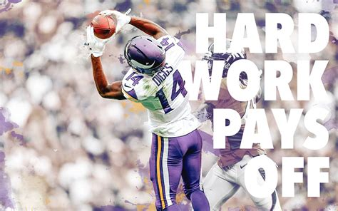 Minnesota Vikings Wallpaper 2015 Stefon Diggs Free Pictures On Greepx