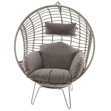 si鑒e oeuf suspendu fauteuil oeuf exterieur 28 images fauteuil boule armature ronde en fer forg 233 demeure et jardin si 232 ge œuf suspendu de jardin merengue