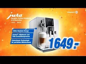 Kaffeevollautomat Im Angebot : tv spot jura espresso kaffeevollautomat j6 brillantsilber jubil ums angebot youtube ~ Eleganceandgraceweddings.com Haus und Dekorationen