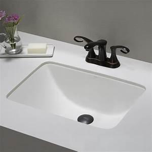 ceramic sink kraususacom With undermount bathroom sinks