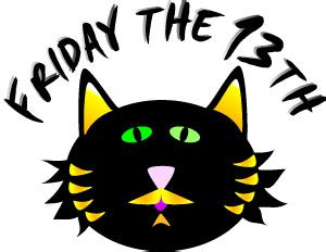 friday 13th clipart friday the 13th black cat clip
