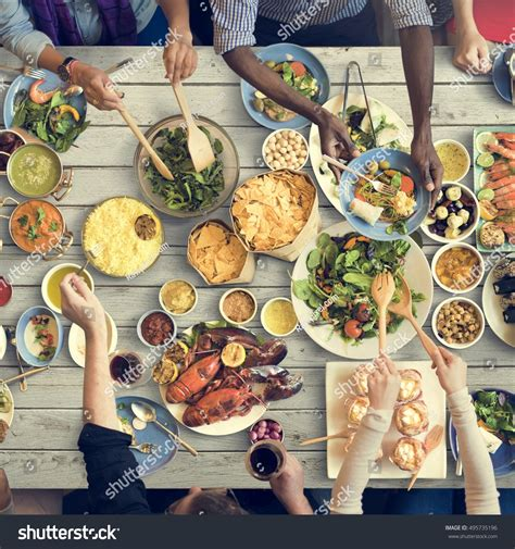 concept cuisine food catering cuisine culinary gourmet buffet stock photo