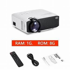 Led Projector Mini Hd Projector 1080p Beamer 2200 Lumens