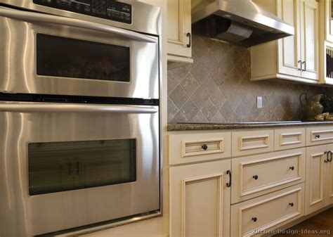 white kitchen cabinets backsplash pictures of kitchens traditional white antique