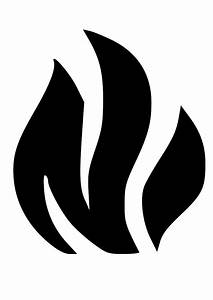 Flame Clipart Black And White | Clipart Panda - Free ...