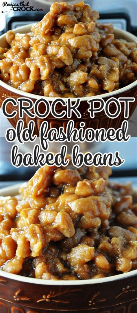 crock pot baked beans from scratch fashioned crock pot baked beans recipes that crock